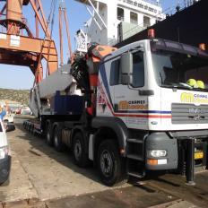 Container Crane - Transportation, Installation